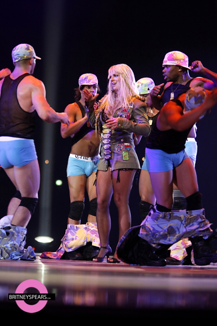 Britney Spears Circus Tour Aus 8