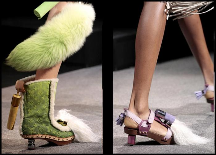 ouis Vuitton Spring-Summer 2010 shoes 1