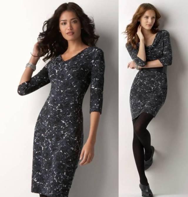 Rose Print Dress $39.99