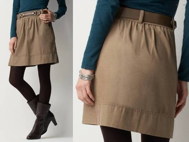 Superfine Corduroy Skirt