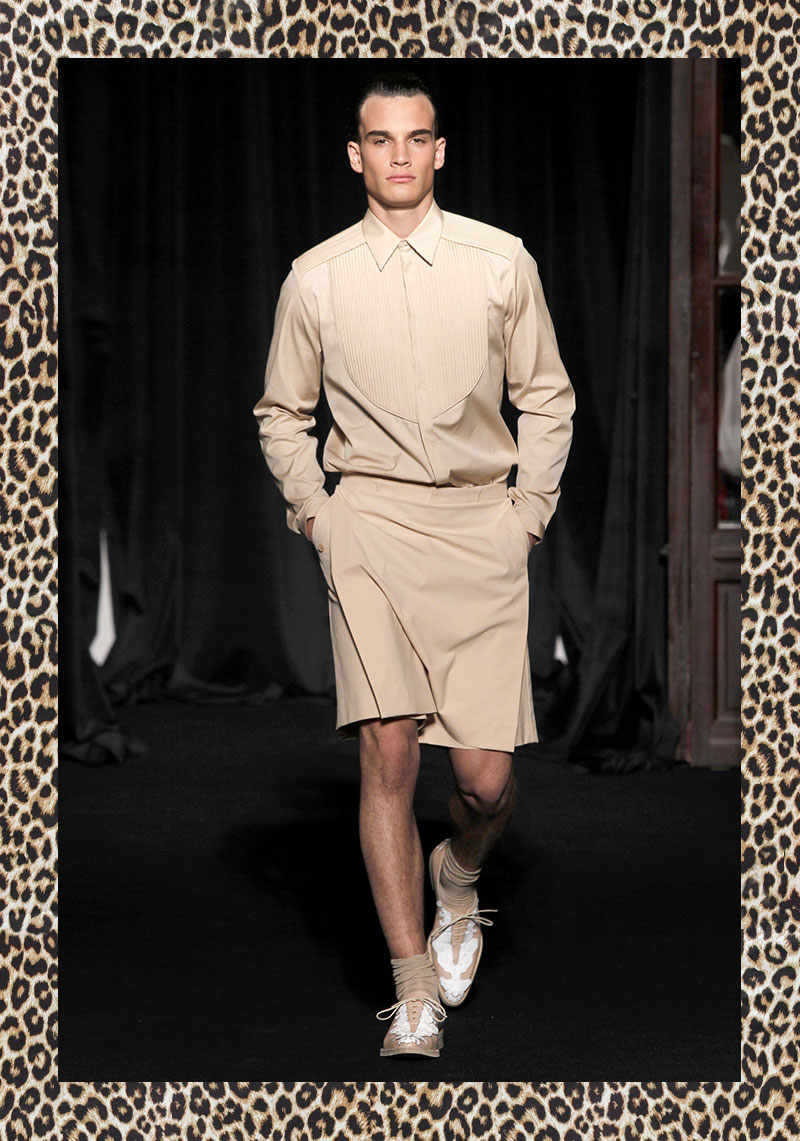 GIVENCHY SPRING-SUMMER 2011 MEN'S COLLECTION 1