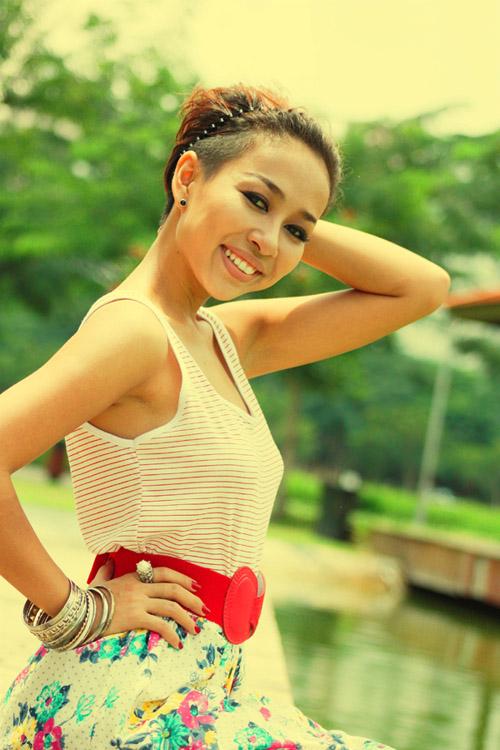 Khi yêu, Thảo Trang ngày càng đẹp ra!