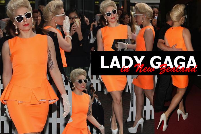 Lady Gaga in New Zealand