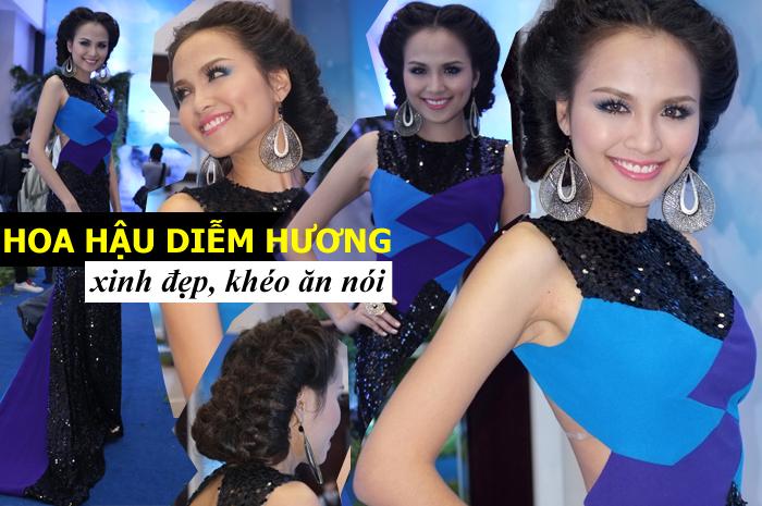 Hoa hậu Diễm Hương