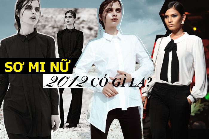 SƠ MI NỮ 2012